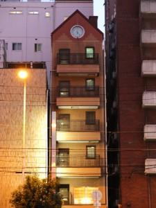 Kleines Wohnhaus in Osaka