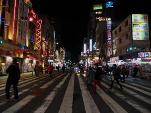 Straße in Osaka