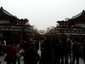 Nakamise Einkaufsstraße