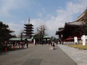 Sensoji Tempelanlage