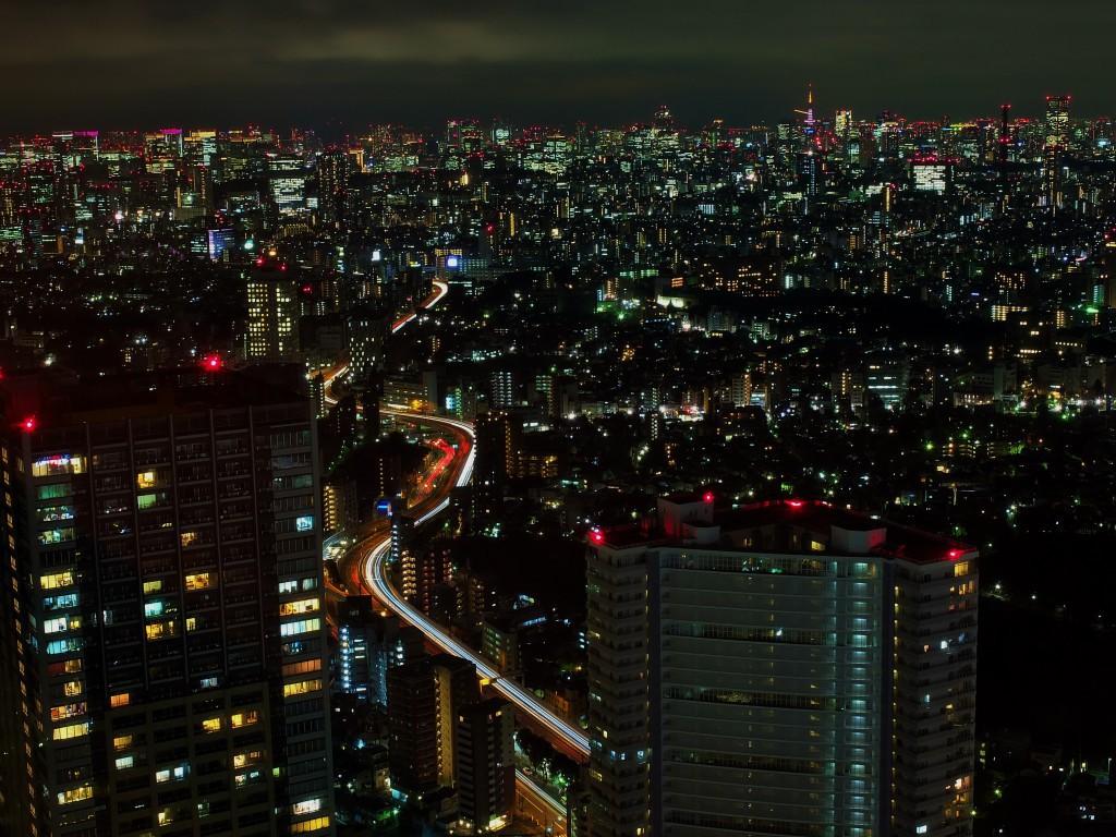 Tokio von oben