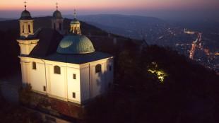 St. Leopold Luftbild auf Wien