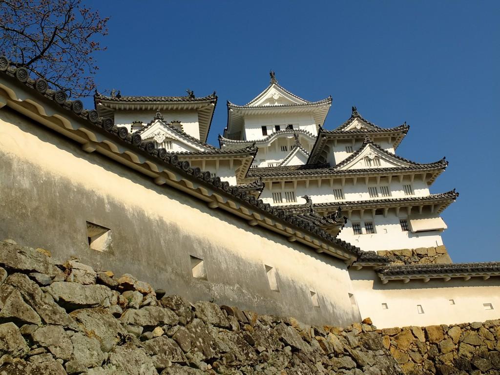 Verteidigungsmauer Himeji Burg