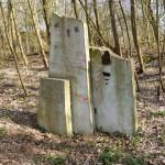 3 Steine im Gelsenkirchen Skulpturenwald