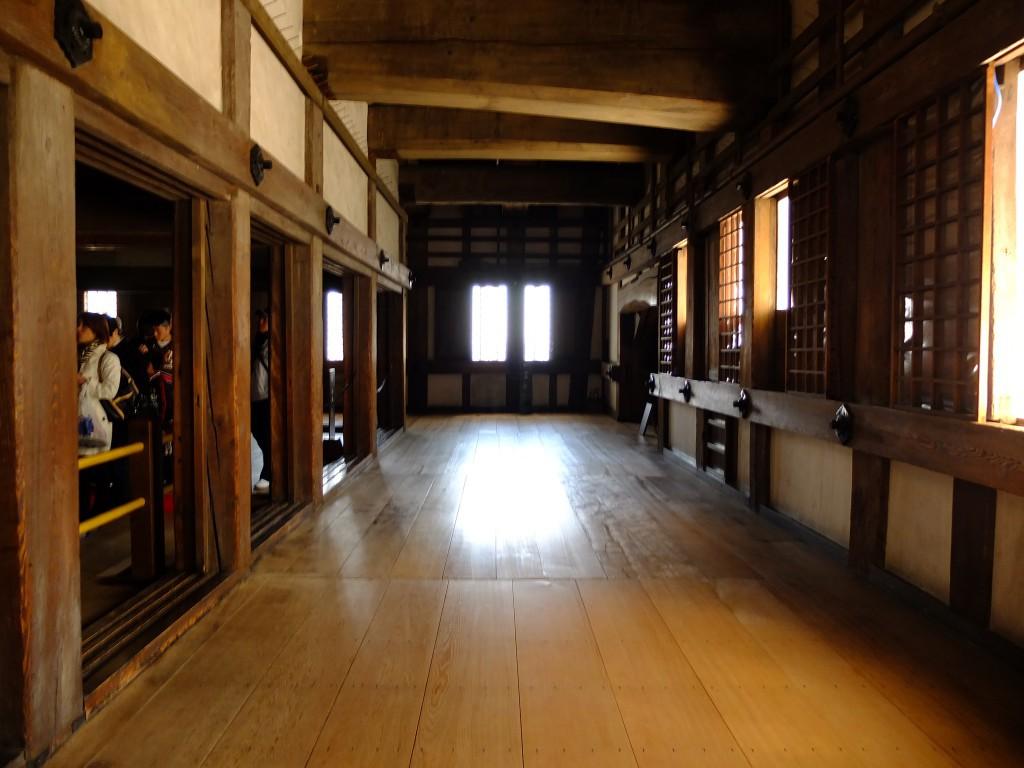 Burg Himeji von innen