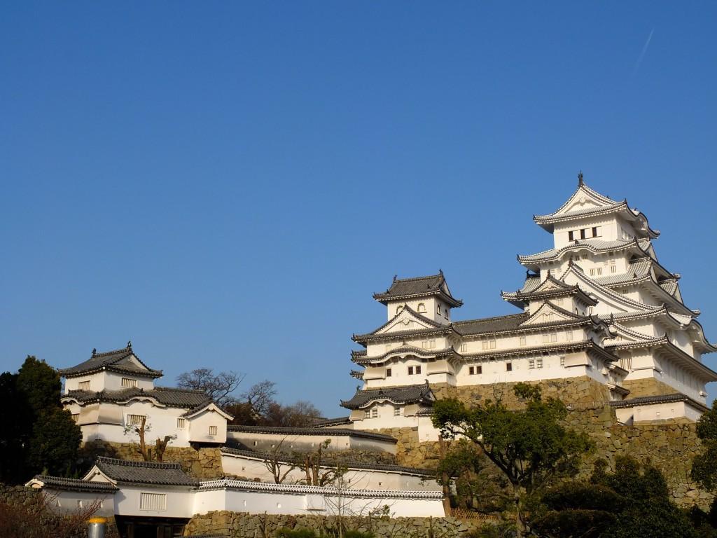 Himeji Burg ganz