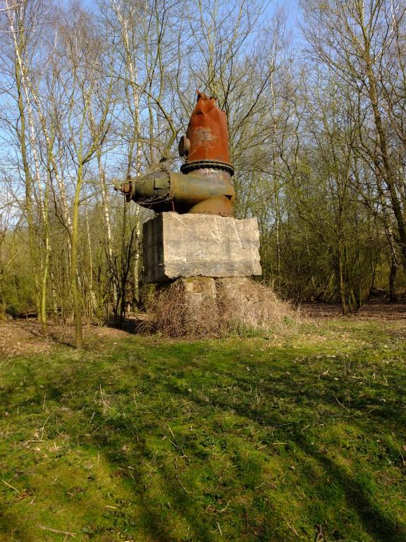 Skulptur im Skulpturenwald