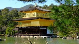 Kyoto Kinkakuji goldene Pavillion