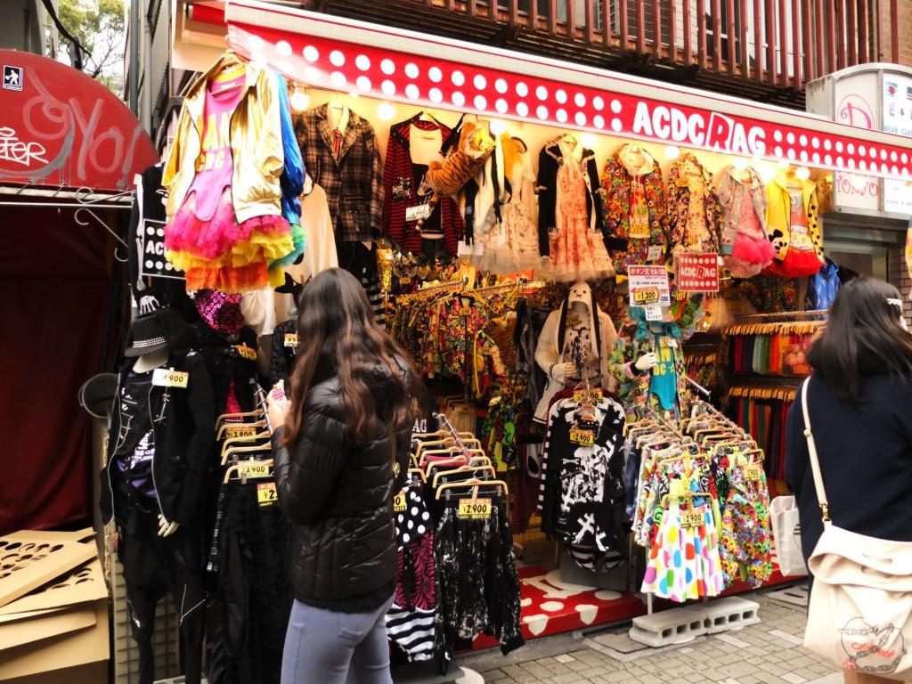 ACDC shop harajuku