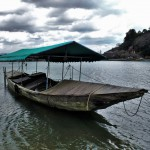 Kyoto Arashiyama Fischerboot