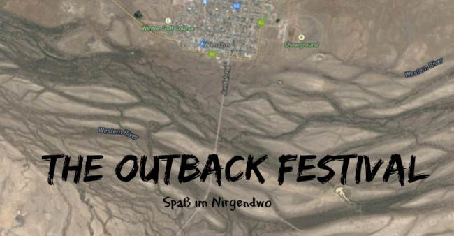 outback festival in winton satellitenfoto