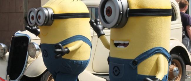 Minions im Movie Park