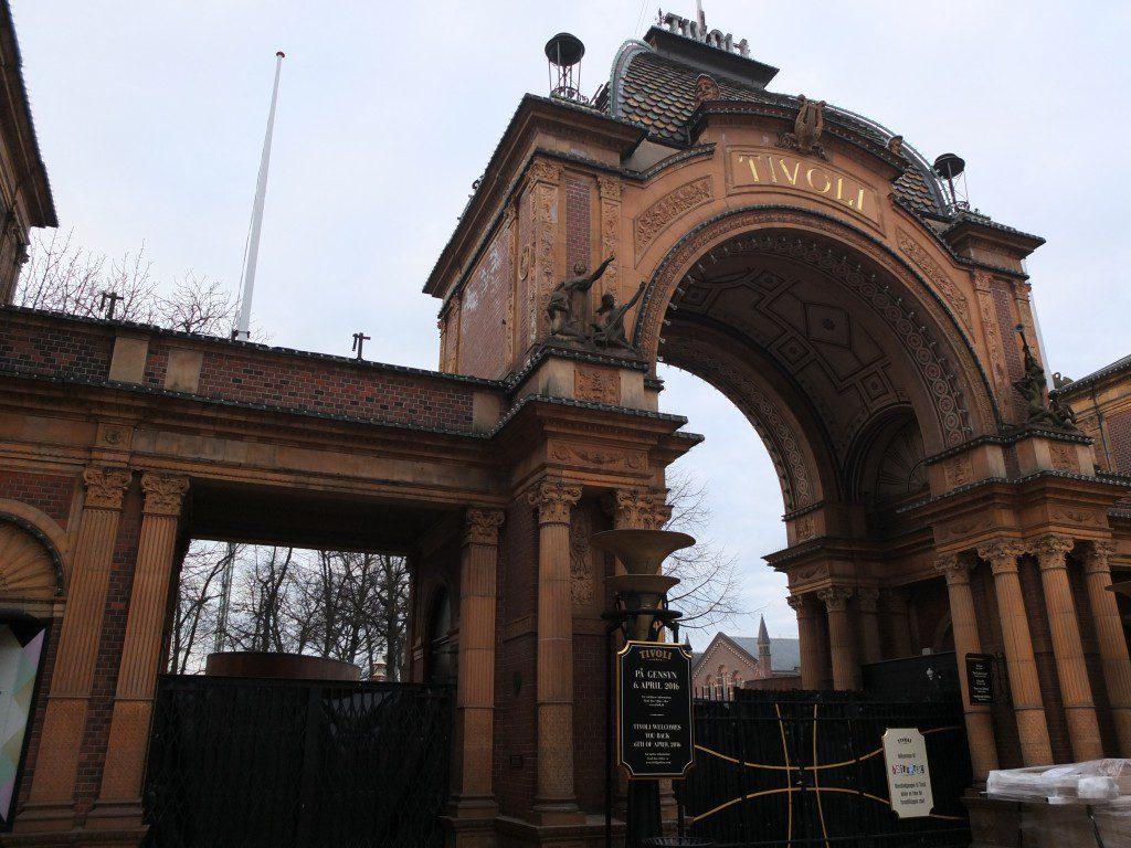 Tivoli Kopenhagen Tor