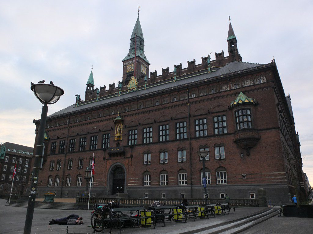 Obdachlose in Kopenhagen