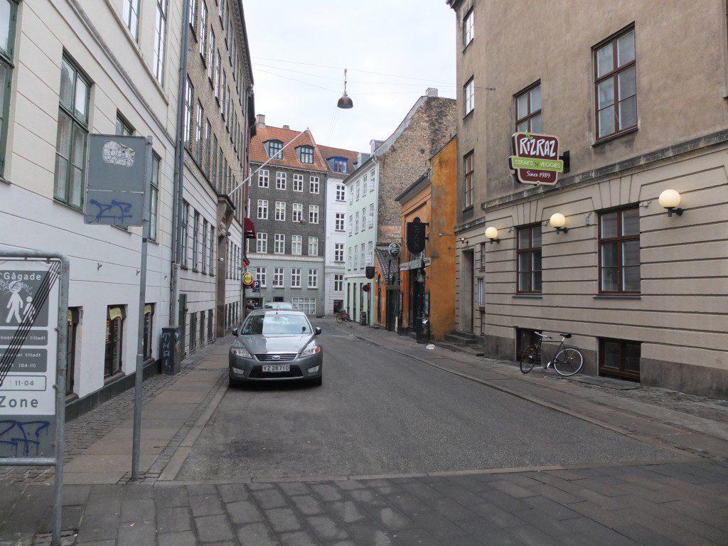 Straße in Kopenhagen