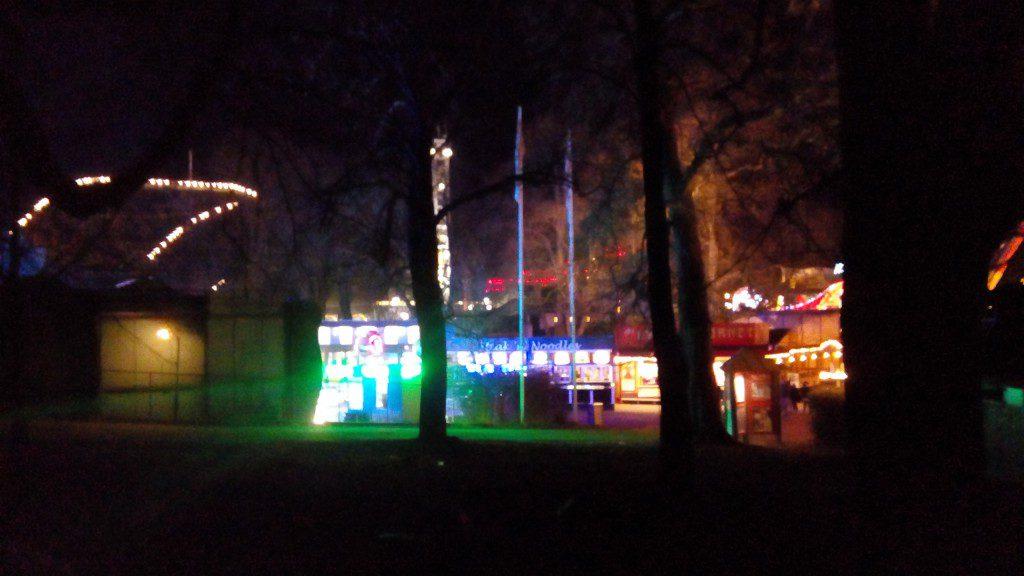 Dyrehavsbakken bei Nacht